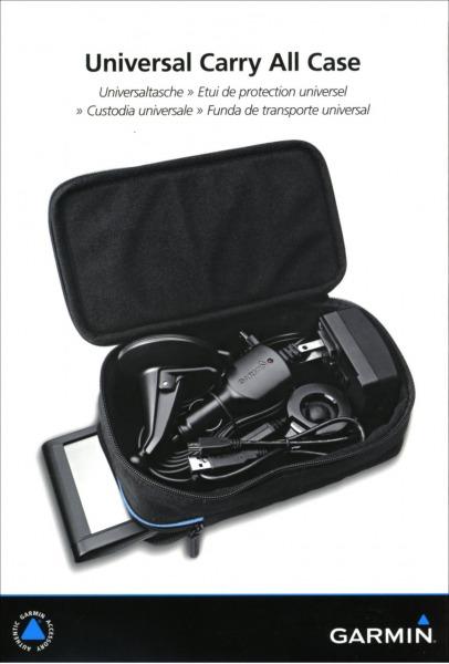 """Garmin väska f.  4 """"/ 5"""" / 6 """"GPS"""