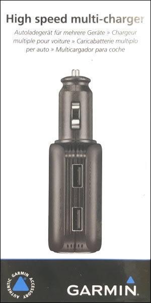 Garmin USB Multiladdare med hög hastighet f. Garmin Camper 660LMT-D