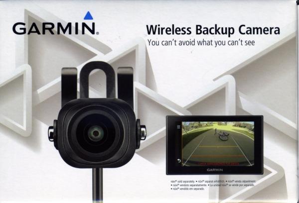 Garmin trådlös backkamera f. Garmin DriveSmart 61 LMT-D