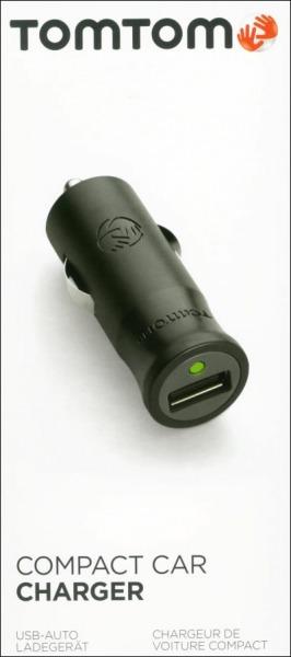 TomTom Kompakt billaddare Micro + Mini USB f. TomTom Rider450